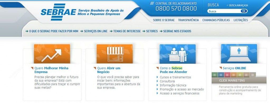 cursos online grátis no Sebrae