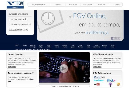 cursos gratuitos online FGV Online