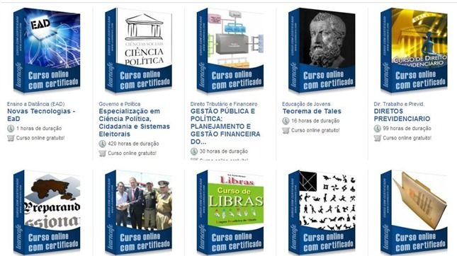 learncafe cursos gratuitos online com certificado