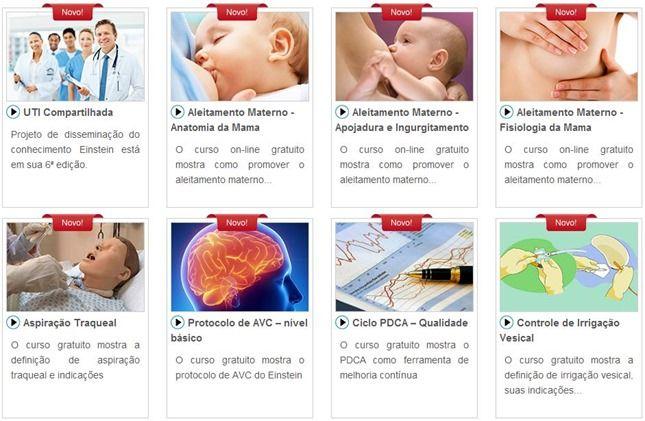 cursos gratuitos online Hospital Einstein