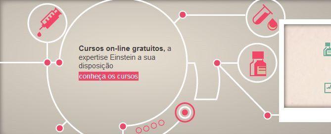 96 cursos gratuitos online na área de Saúde pelo Hospital Einstein