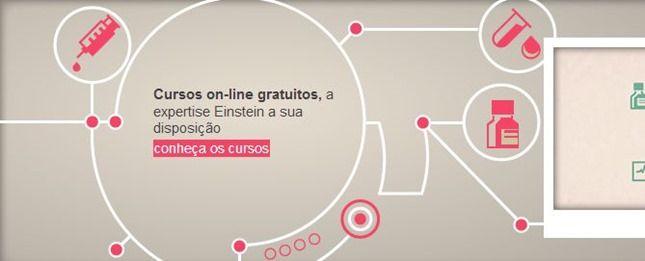 cursos gratuitos online na área de Saúde