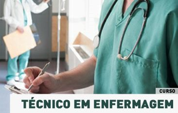 curso técnico em enfermagem no Senac