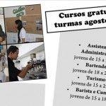 Cursos gratuitos no Colmeia em Agosto de 2013