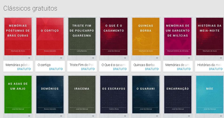 clássicos da literatura brasileira para baixar